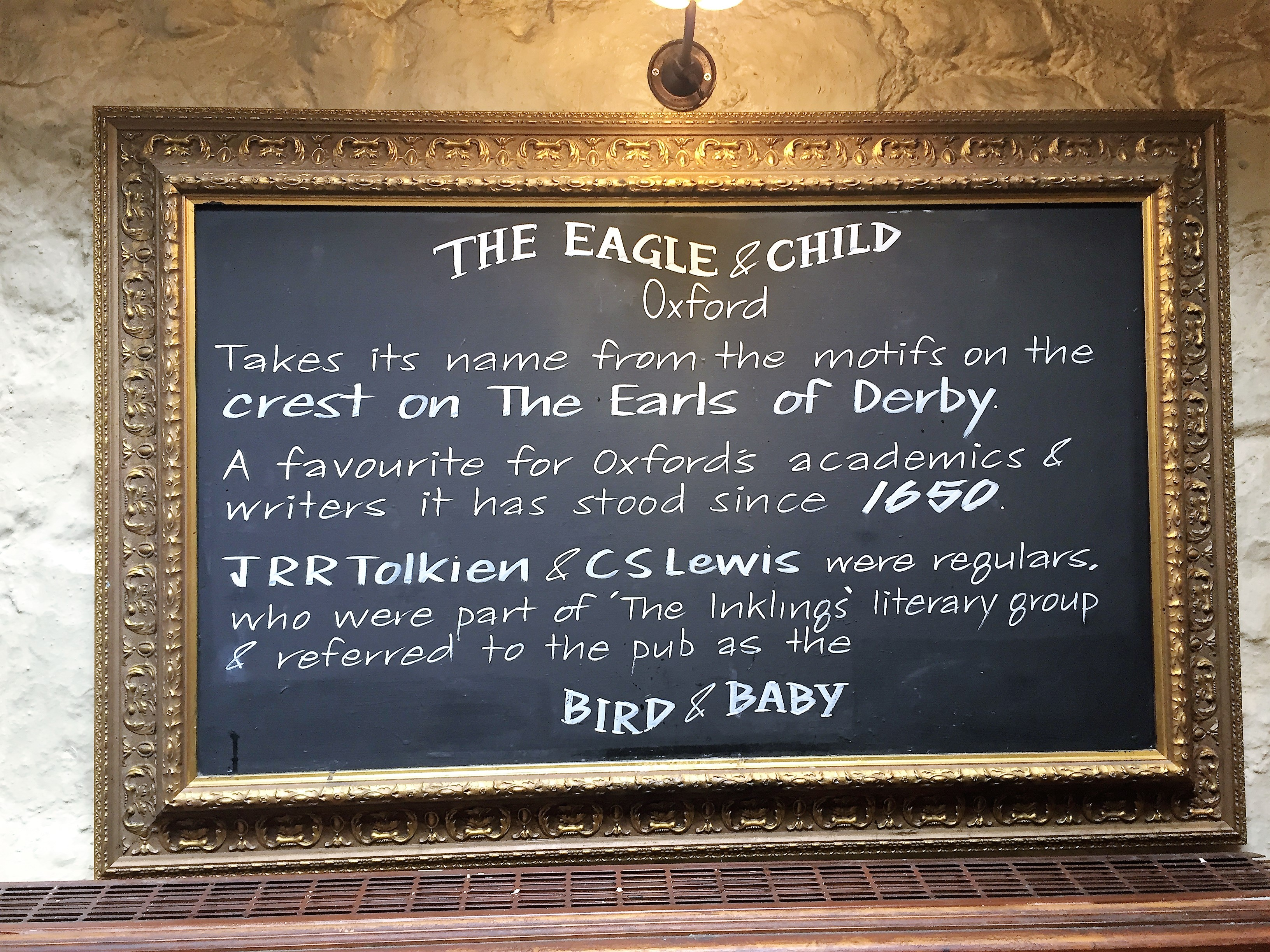 the eagle and child oxford day trip visit travel the salt compass