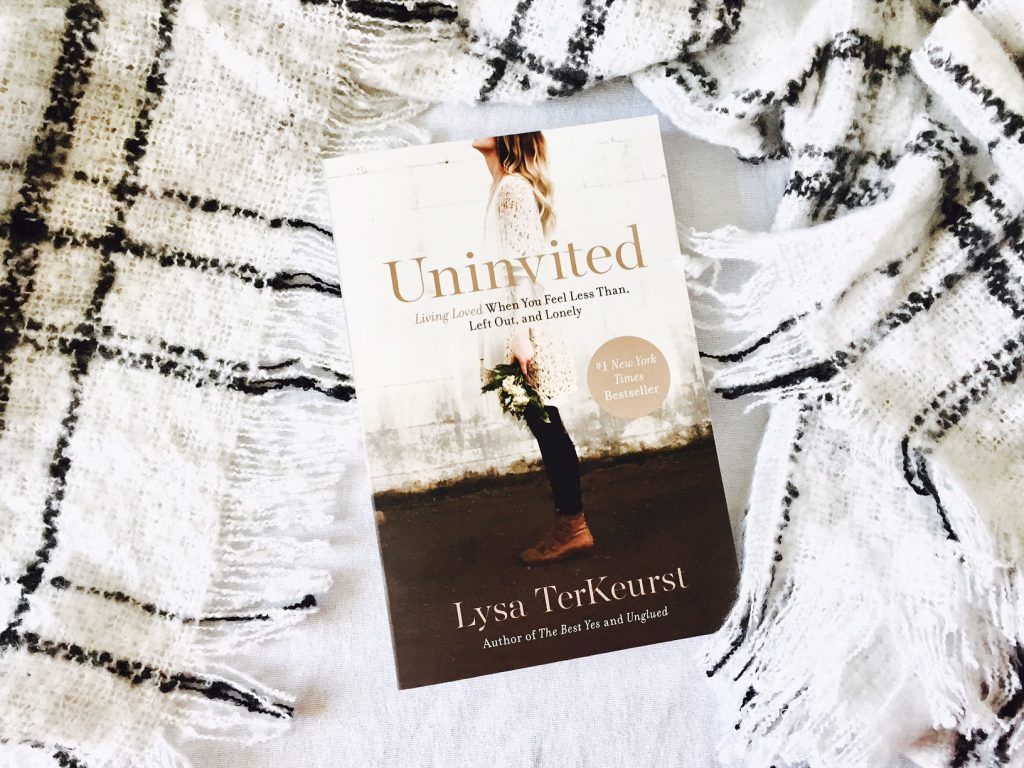 uninvited by lysa terkeurst christian books the salt compass blog
