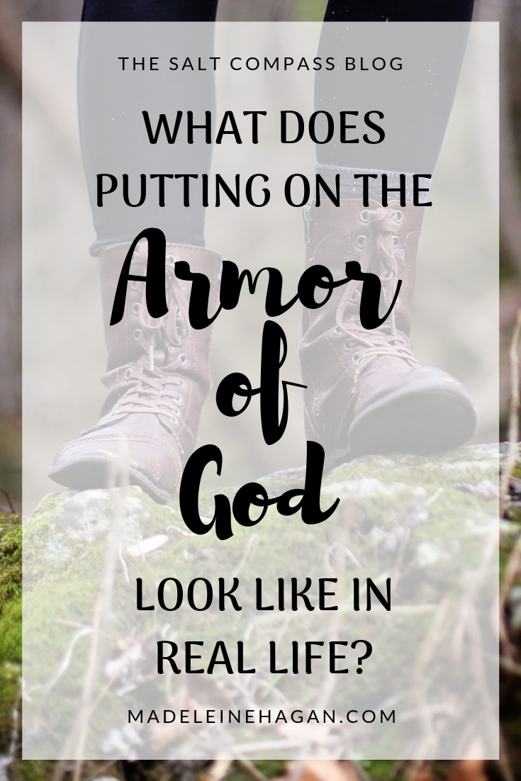 What Does Putting On The Armor Of God Look Like?