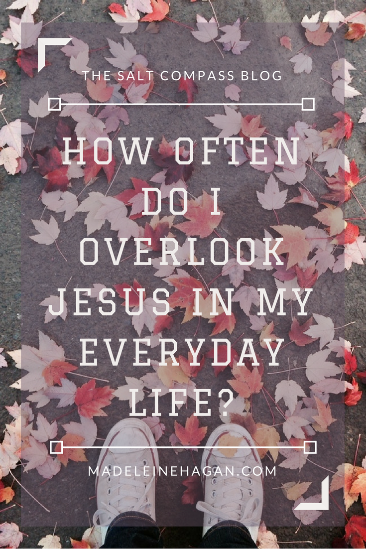 Overlooking Jesus in Everyday Life Christian Lifestyle Blog