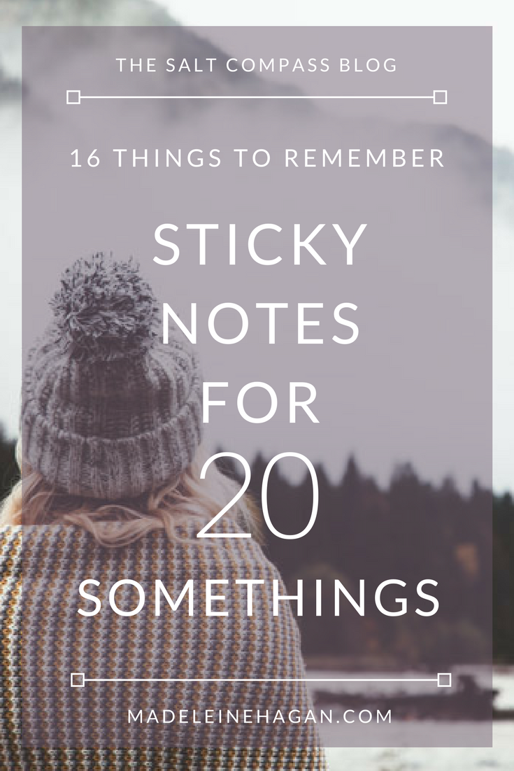 Sticky Notes For 20 Somethings
