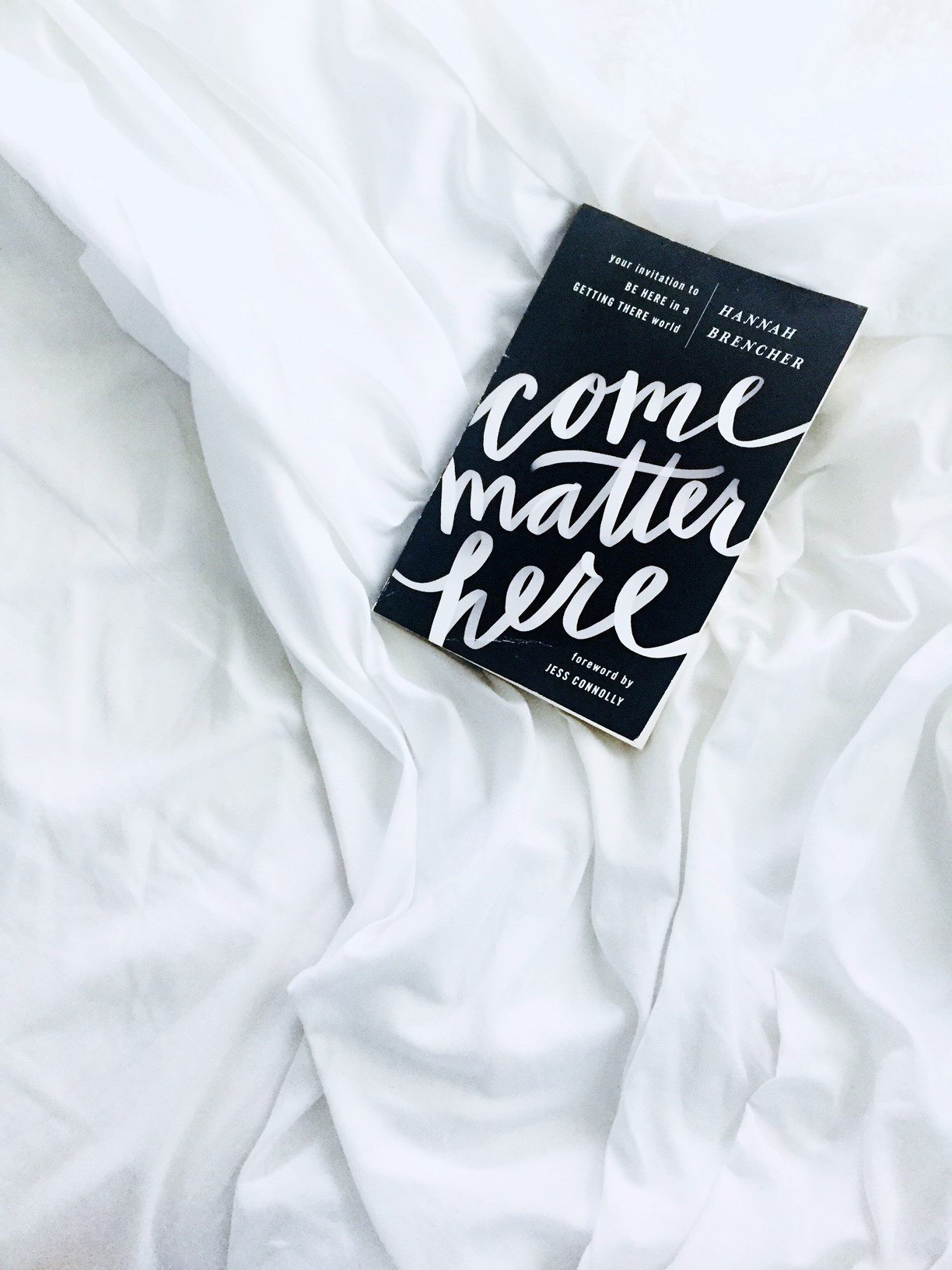 Come Matter Here by Hannah Brencher on the Salt Compass bookshelf