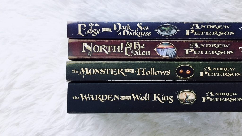 The Salt Compass Bookshelf: The Wingfeather Saga