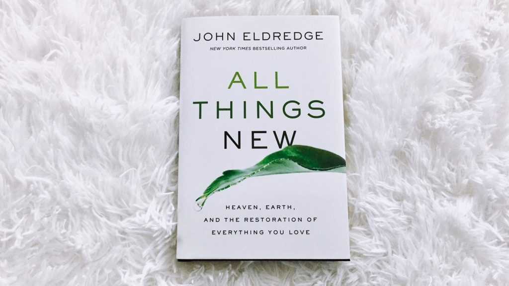 The Salt Compass Bookshelf: All Things New by John Eldredge