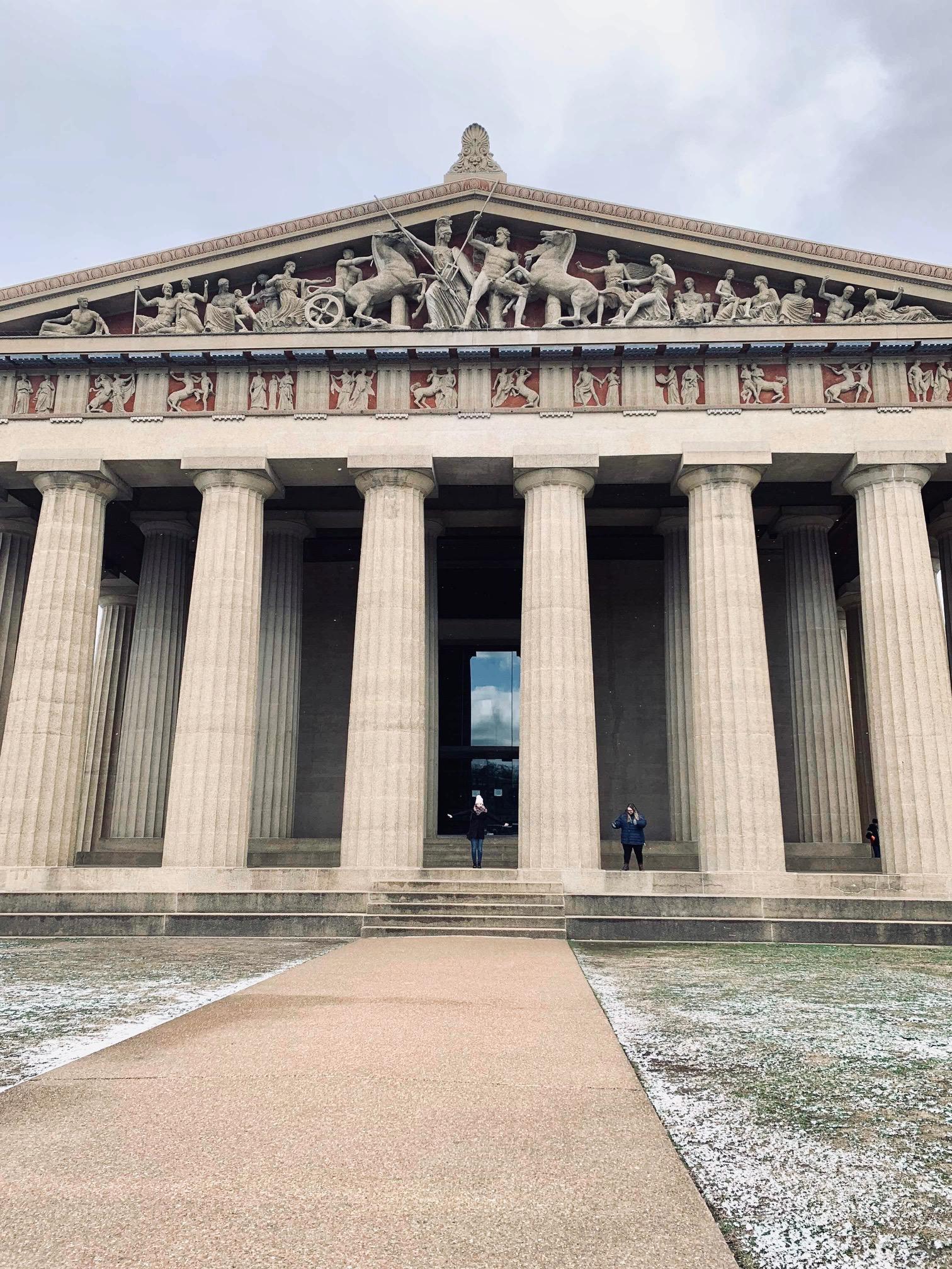 Centennial Park Parthenon, Nashville Tennessee