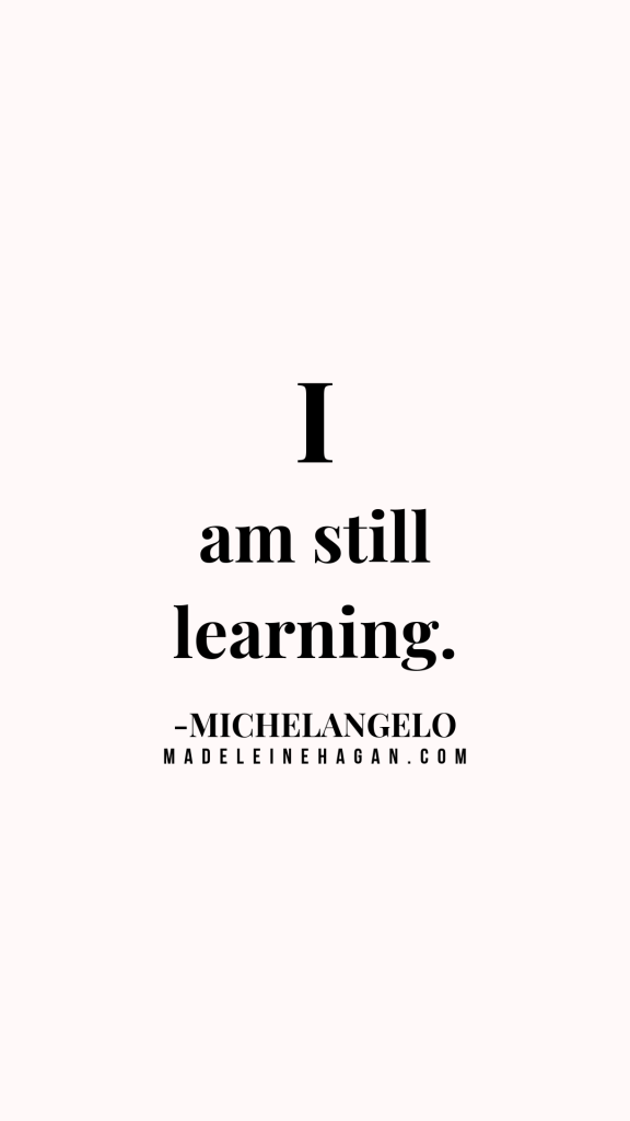 Michelangelo Quote 1