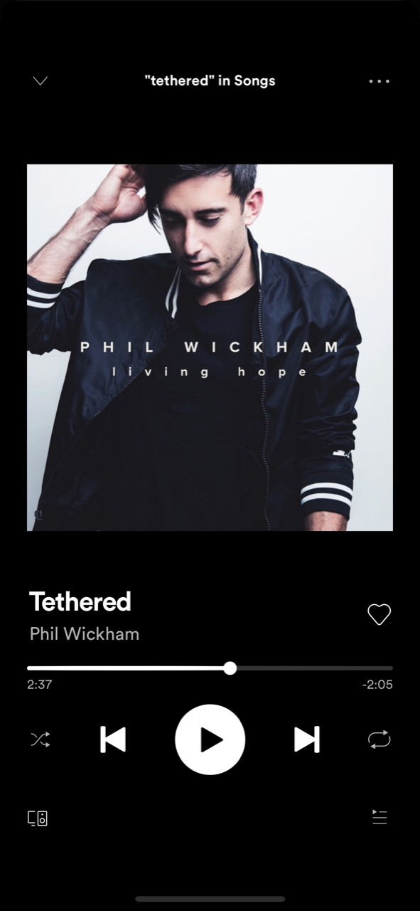 Tethered by Phil Wickham